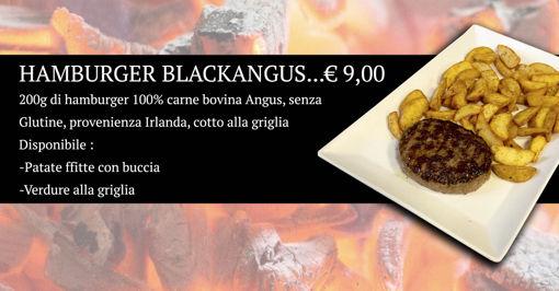 Immagine di Hamburger Bleckangus , con patate fritte speziate