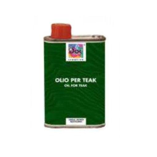 Immagine di olio per tek