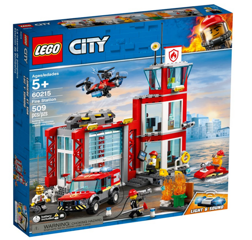 Lego - City: caserma dei pompieri