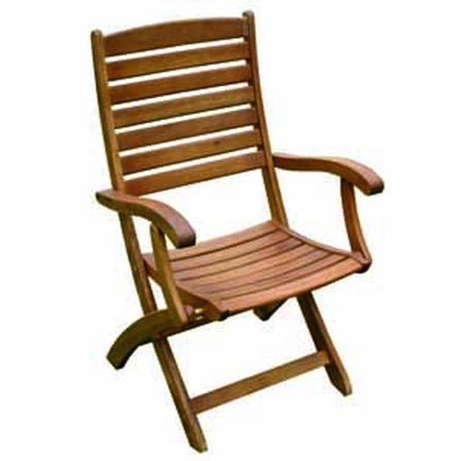 Immagine di sedia Monterna balau pieghevole