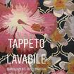 Immagine di Tappeto Fiori Rosa