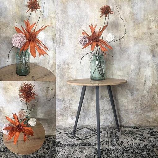 Immagine di Tavolino 3 gambe con Top Legno