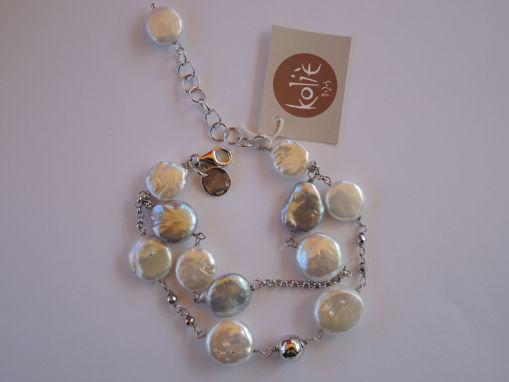 Immagine di Bracciale in argento perle Naturali