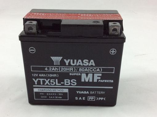 Immagine di Batteria YUASA YuMicron YTX5L-BS, per moto, 12V 4Ah 80A