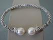 Bracciale in argento e Perle Naturali