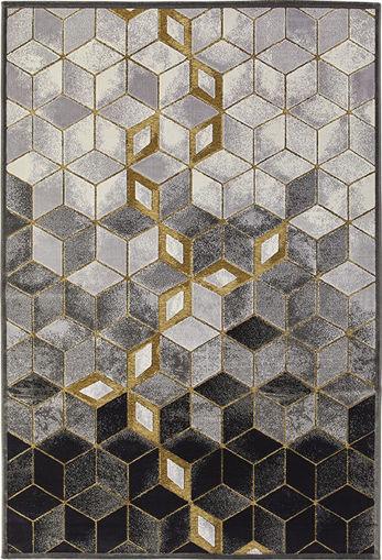 Immagine di Tappeto Geometric Noir
