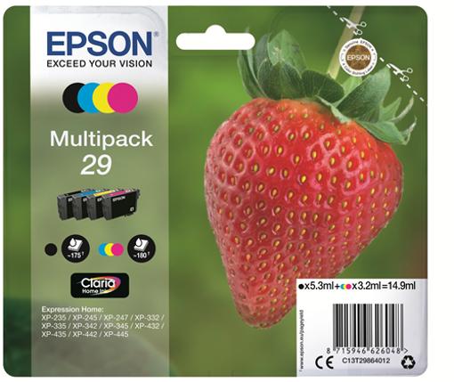 Epson Multipack 29  nero / ciano / magenta / giallo