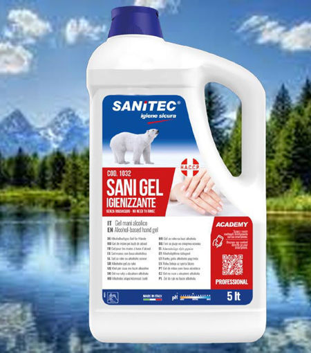 Gel igienizzante tanica 5 litri