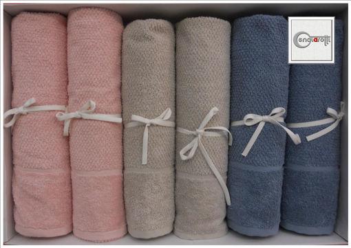 Coppia di Asciugamani colorati