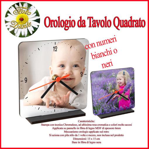 Orologio Personalizzato da Tavolo o da Parete