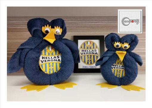 Coppia di Asciugamani Squadra Calcio Hellas Verona