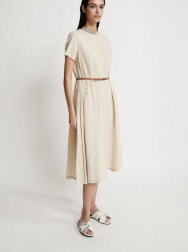 Fabiana Filippi Chemsier vestito in cotone e lino
