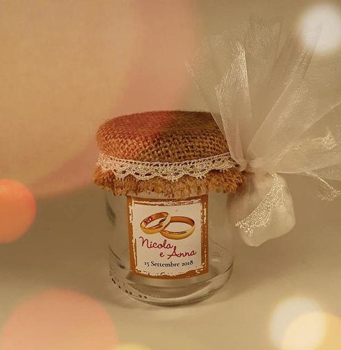 Immagine di Tocchi di Frutta Bomboniera gastronomica sposi/anniversario