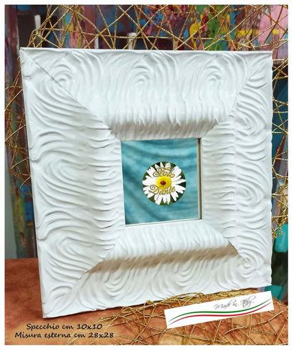 Cornice artigianale specchio