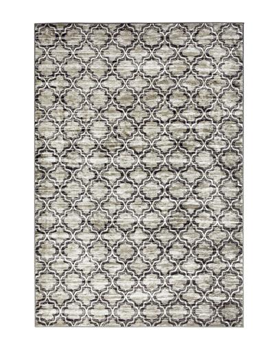 Tappeto Sitap Malizia è un tappeto geometrico dallo stile moderno ed elegante