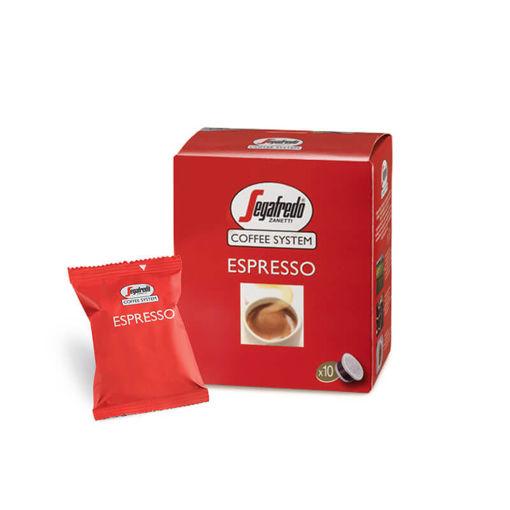 Capsule Caffè Segafredo Espresso Rosso