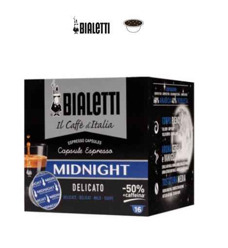 Capsule Bialetti Midnight Gusto Delicato