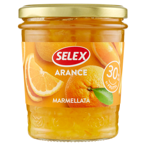 Selex  - Marmellata di Arance 330 gr
