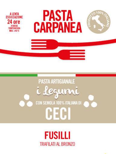"""Immagine di Carpanea """"i Legumi"""" FUSILLI CECI 250g"""