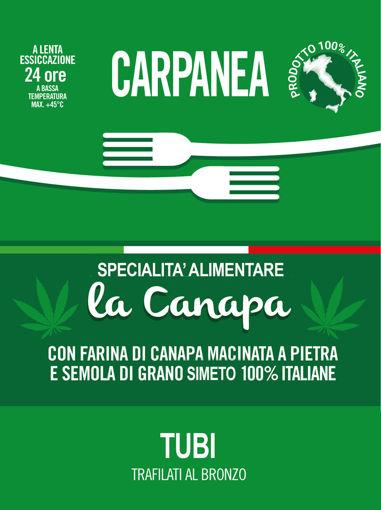 """Immagine di Carpanea """"La Canapa"""" TUBI DI CANAPA 500g"""