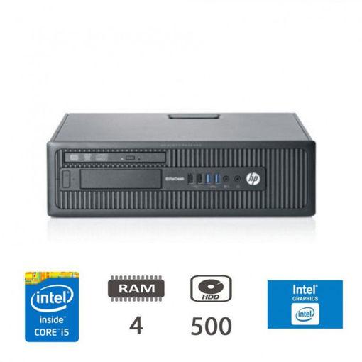 HP EliteDesk 800 G1 - I5-4570/4/500/DVD/W10