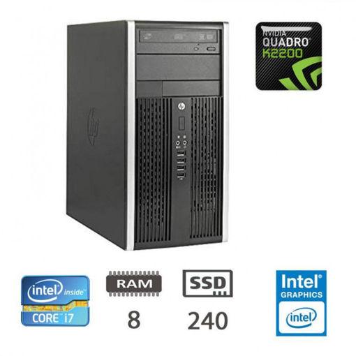 HP 8300 Elite MT - I7-3770/8/SSD240/QK2200/W10