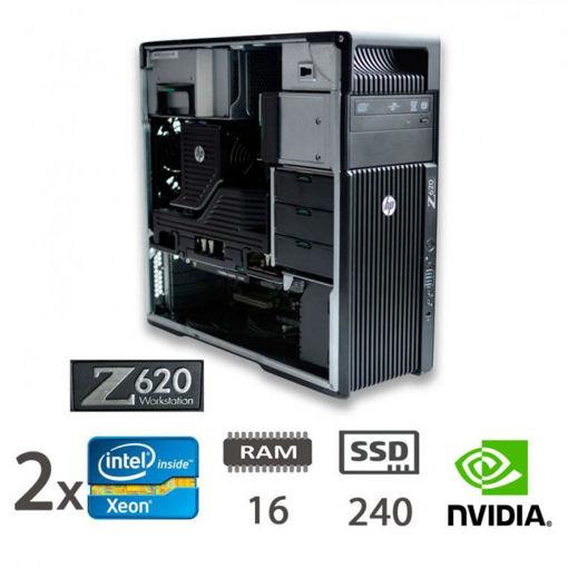 HP Z620 Workstation Dual Cpu Xeon