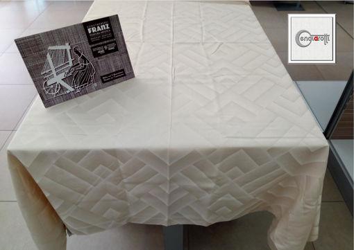 Tovaglia cotone e lino 165 x 200