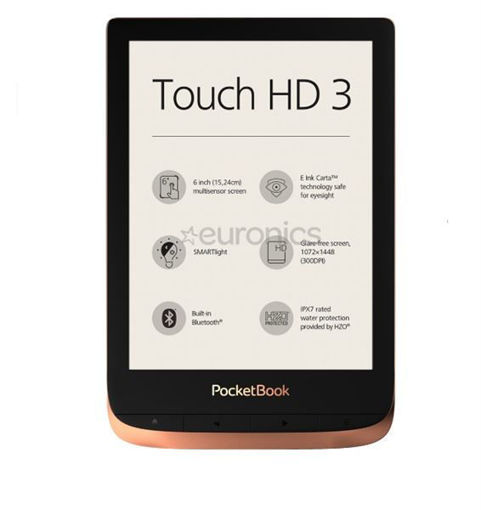 PocketBook - Touch HD3 Metalico Cobre