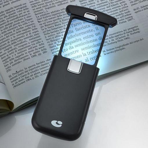 Immagine di Lente di ingrandimento tascabile con luce led