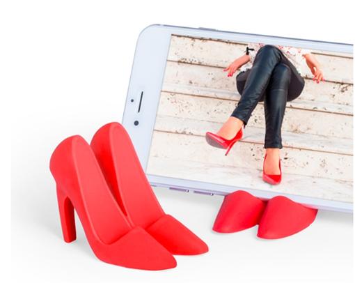Supporto per Cellulari - Scarpe con Tacchi