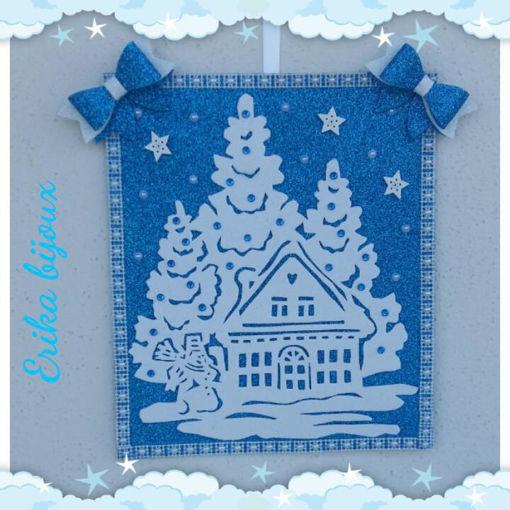 Immagine di Quadretto natalizio da appendere