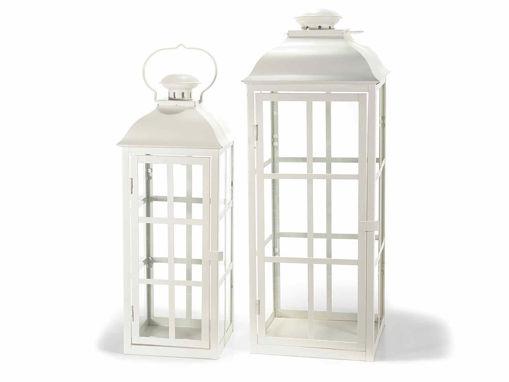 Lanterne Bianche porta Candele