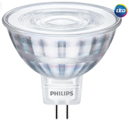 CorePro LED spot ND 5-35W MR16 827 36D 2700K