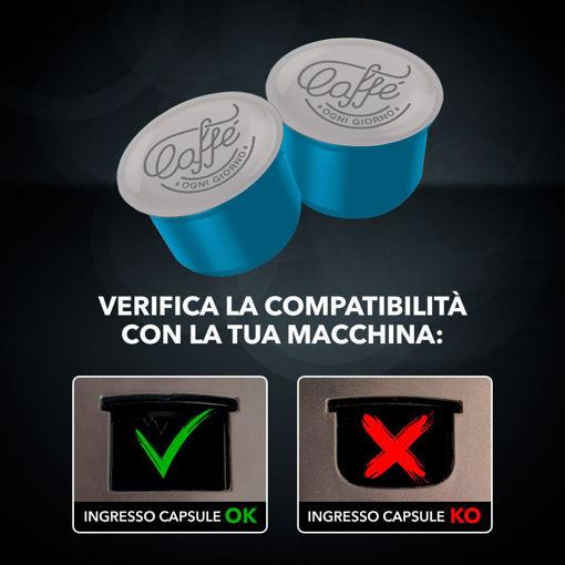Capsule compatibili: caffè Ogni Giorno - DECAFFEINATO - 100 capsule