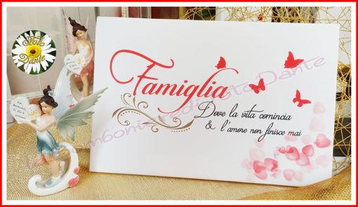 Immagine di Quadro in Tela Famiglia