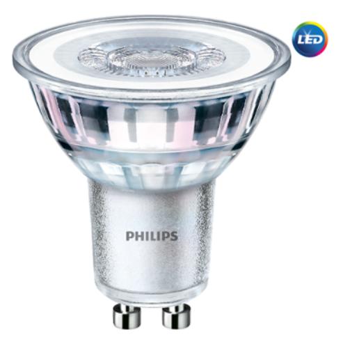 Corepro LEDspot 4.6-50W GU10 840 36D 4000K
