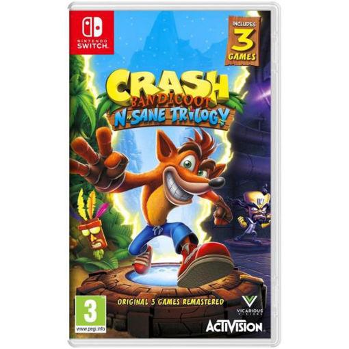 Nintendo Switch - Crash Bandicot