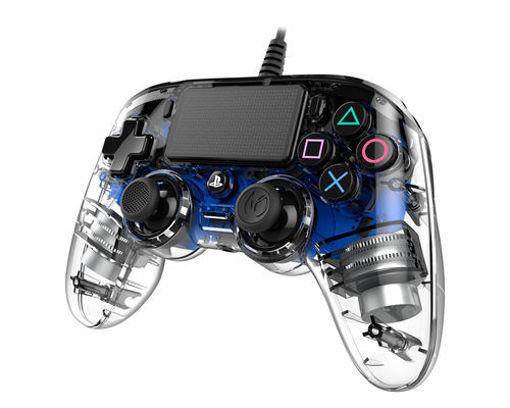 Nacon - Gamepad Trasparente per PS4/PC USB