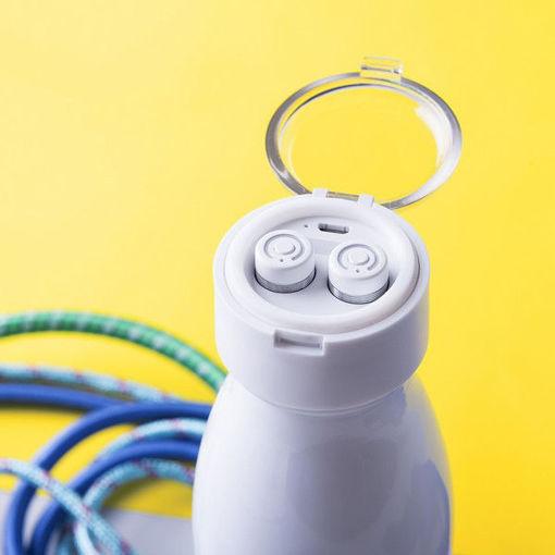 Bottiglia Termica con Auricolari Bluetooth (580 ml)