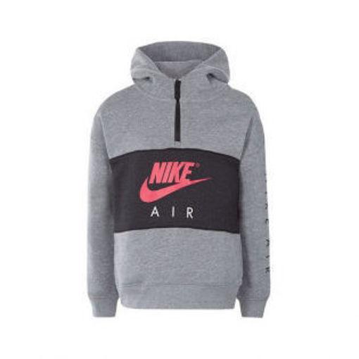 Nike - Felpa con Cappuccio Bambino