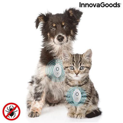 Antiparassitario a Ultrasuoni Ricaricabile per Animali