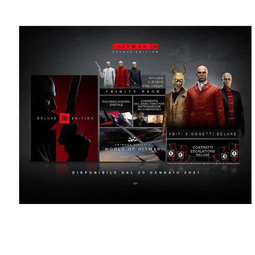 PS4 - Hitman 3 Deluxe