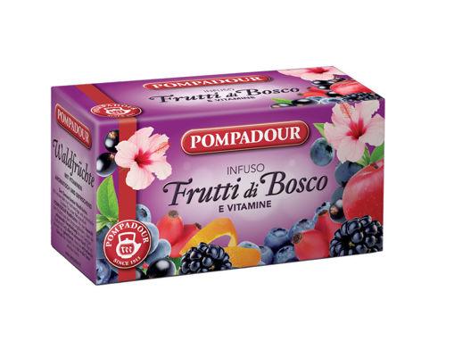 Pompadour - Infuso  Frutti di Bosco