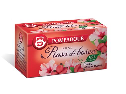 Pompadour - Infuso  rosa di bosco