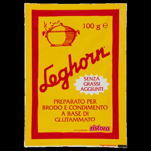 Leghorn Preparato per Brodo e Condimento a Base di Glutammato 100g