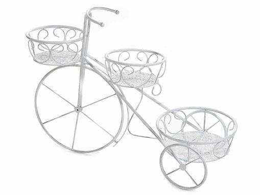 Bicicletta Porta Fiori in Metallo