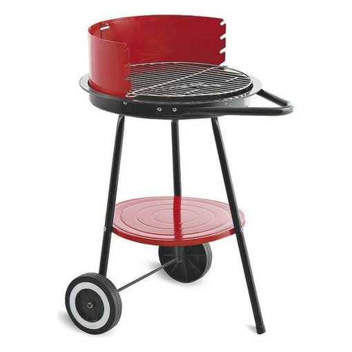 Barbecue a Carboni con Ruote