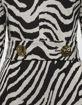 Escada Abito in jersey jacquard zebrato
