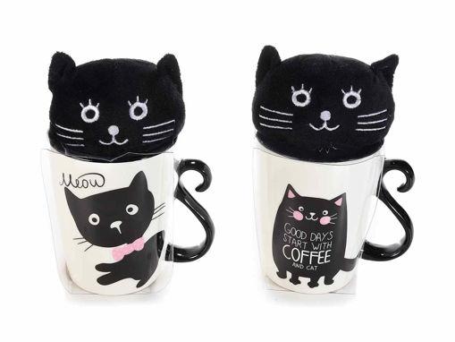 Coppia tazze Gatto